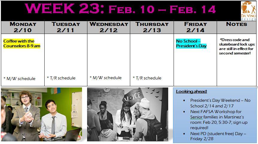 week 23 families