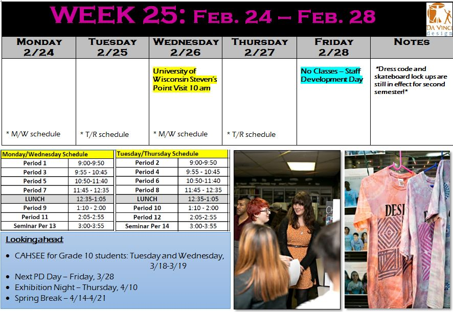 week 25 families