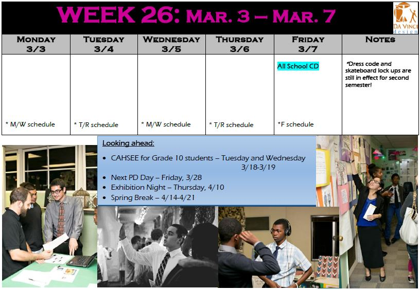 week 26 families