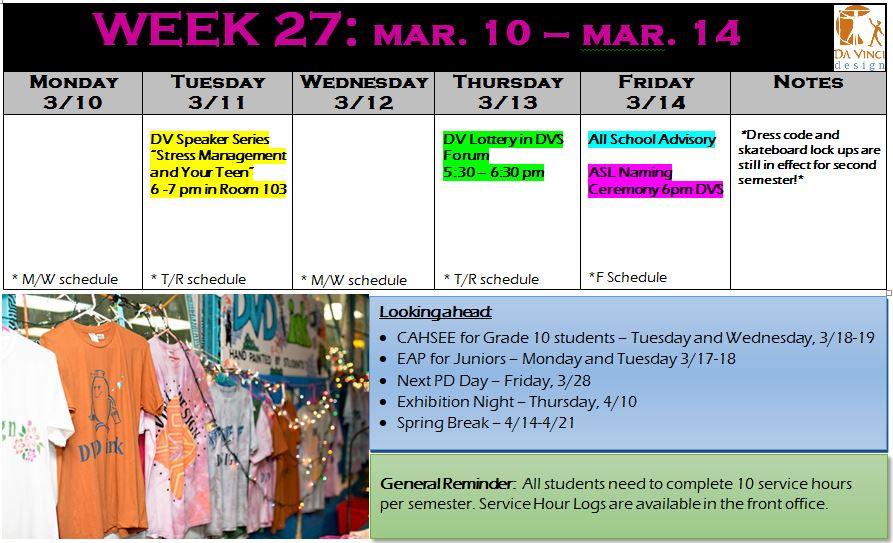week 27 families