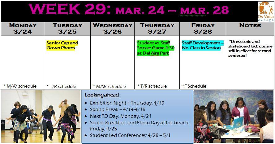 week 29 families
