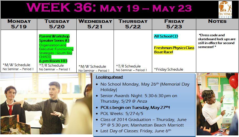 week 36 families