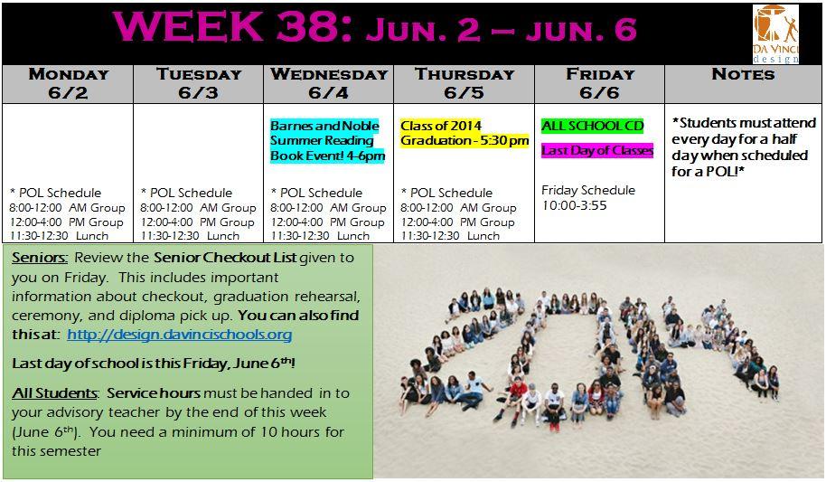 week 38 families