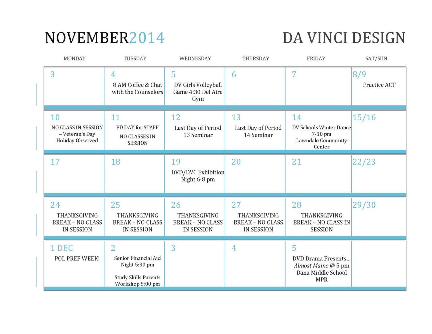 November2014 MonthataGlance