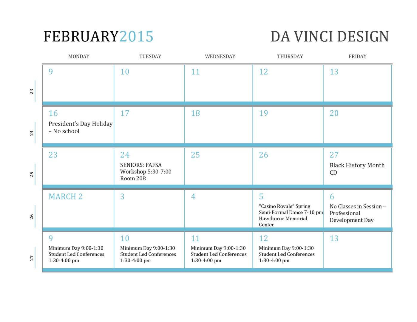 February2015 MonthataGlance