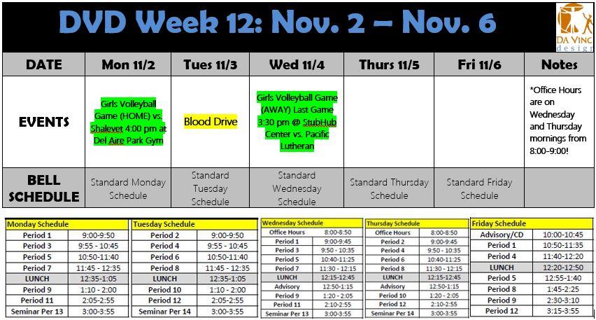 Week 12 families 2015-16