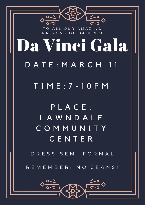 Da Vinci Gala Flyer (Jane)