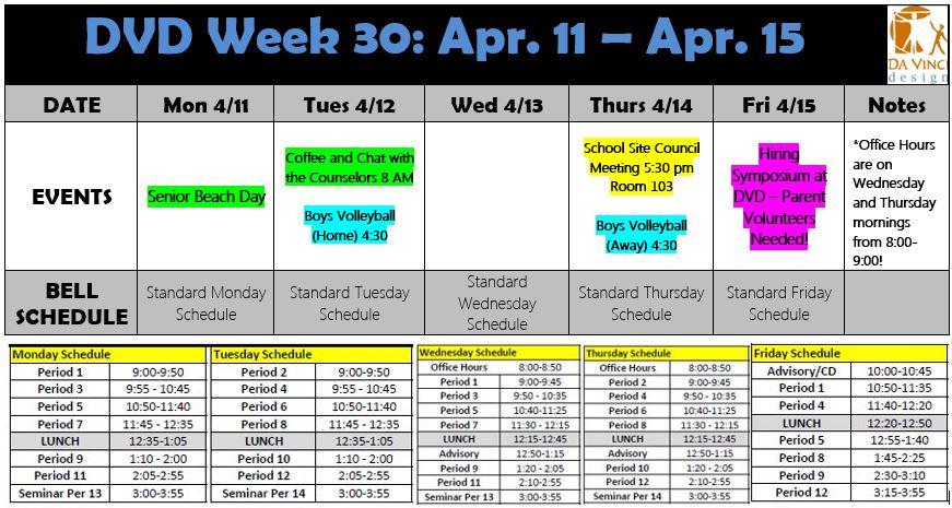 Week 30 dvd families 15-16