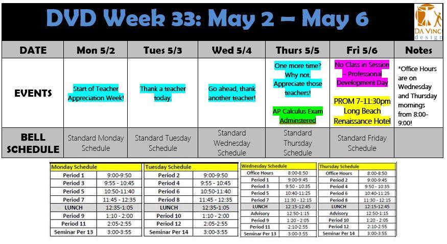 Week 33 families 15-16