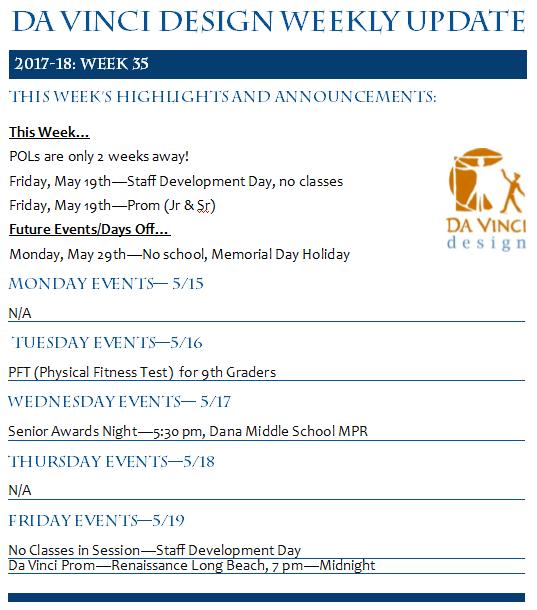 Week 35 Families