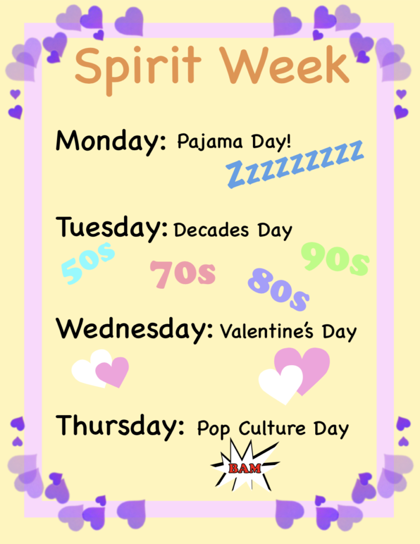 Week 22 Update Spirit Week Da Vinci Design