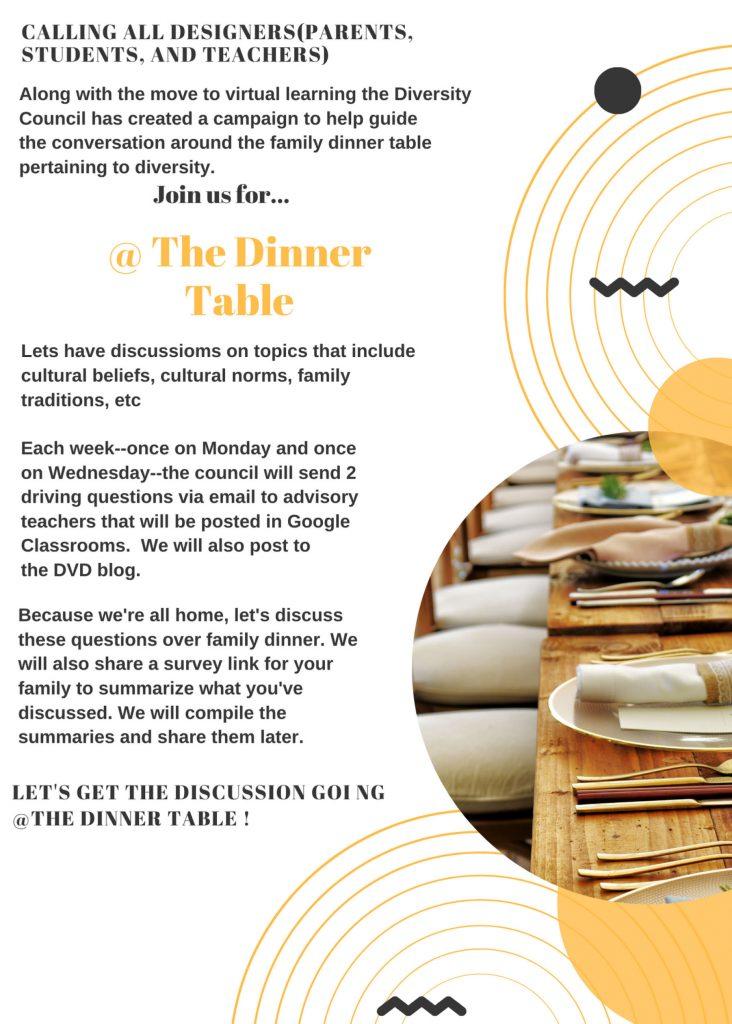 The Dinner Table flyer