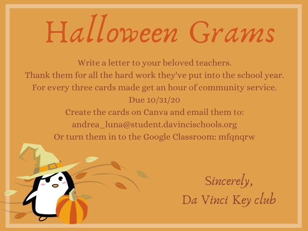 Halloween Grams