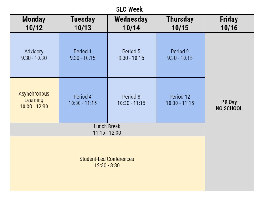 SLC Week 9 2020