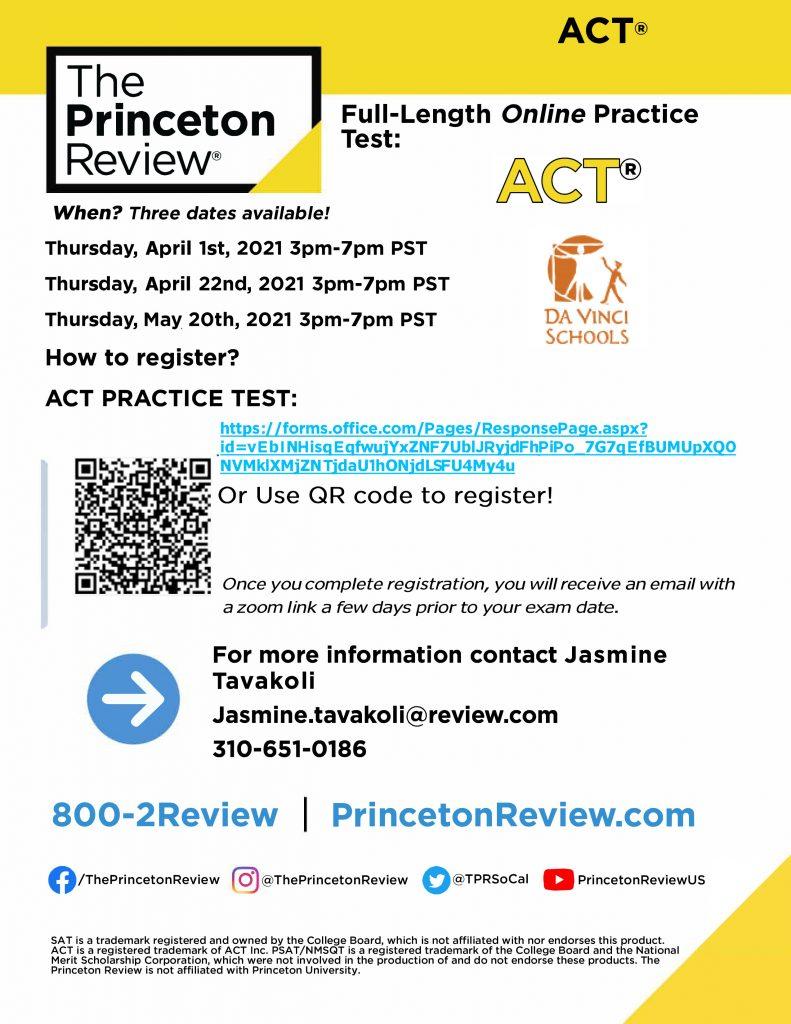 ACT FPT online Da Vinci11