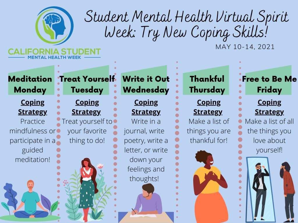 Mental Health Virtual Spirit week