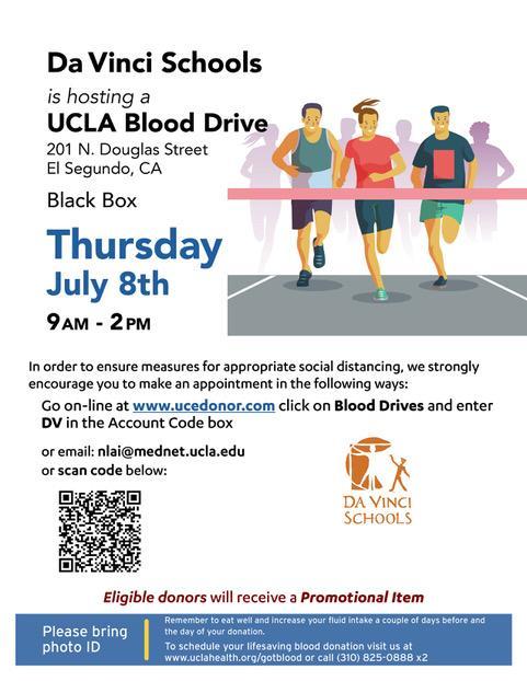 blood drive: July 8th